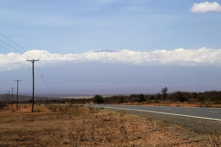 Ensimmäinen näköhavainto Kilimanjarosta