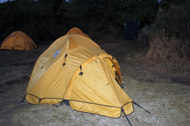 Mun teltta tämän matkan ajan