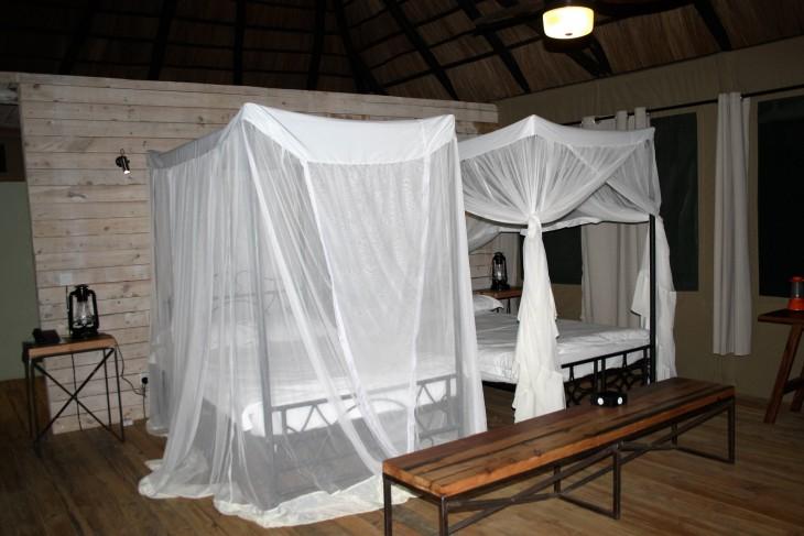 Mun vaatimaton huone Maramboissa