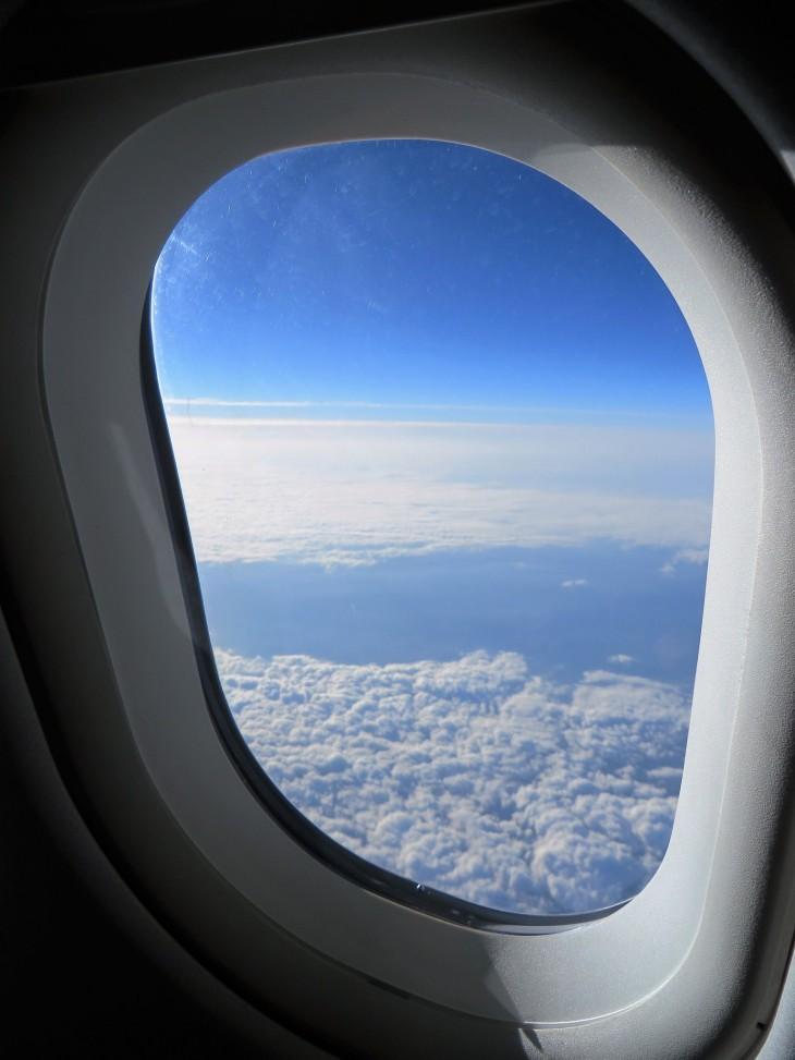 Finnairin lennolla Madridiin