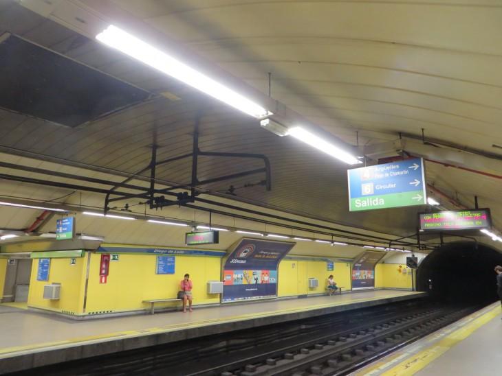 Diego de Leonin metroasemalla