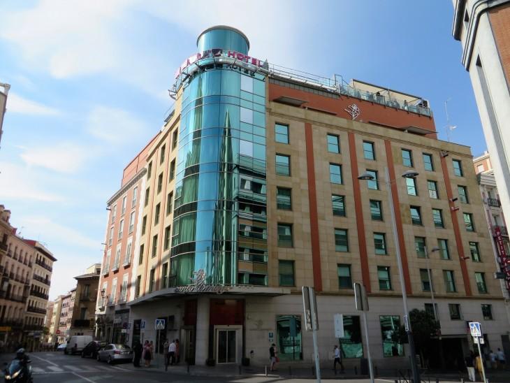 Santo Domingo - meidän hotelli