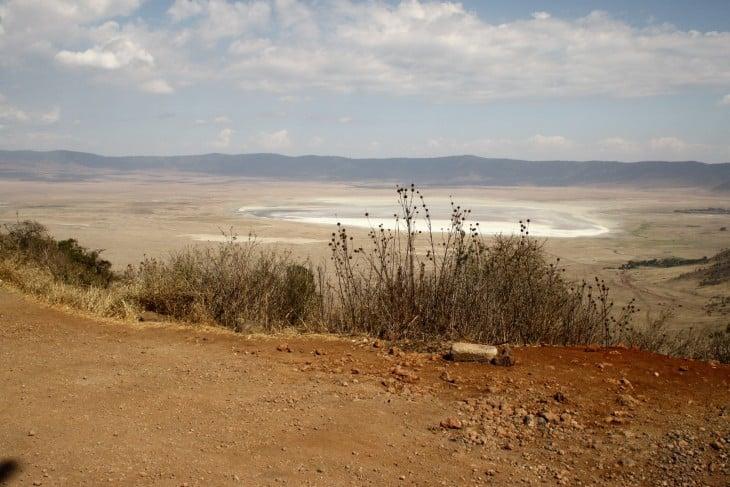 Suolajärvi Ngorongorossa