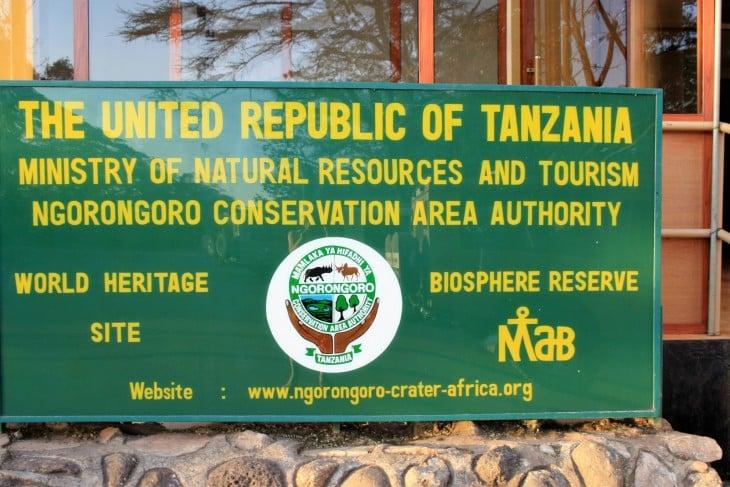 Ngorongoron world heritage site