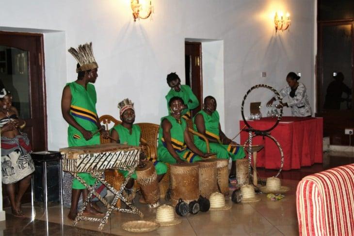 Paikallista musiikkia Ganakossa