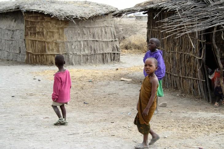 Masaikylän lapset