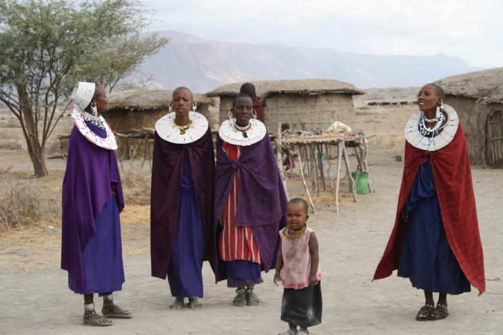 Masaikylän naiset