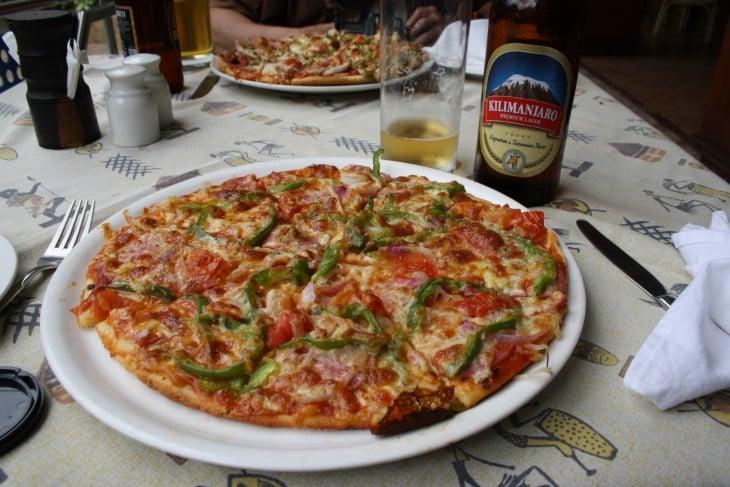 Pizzaa ja olutta