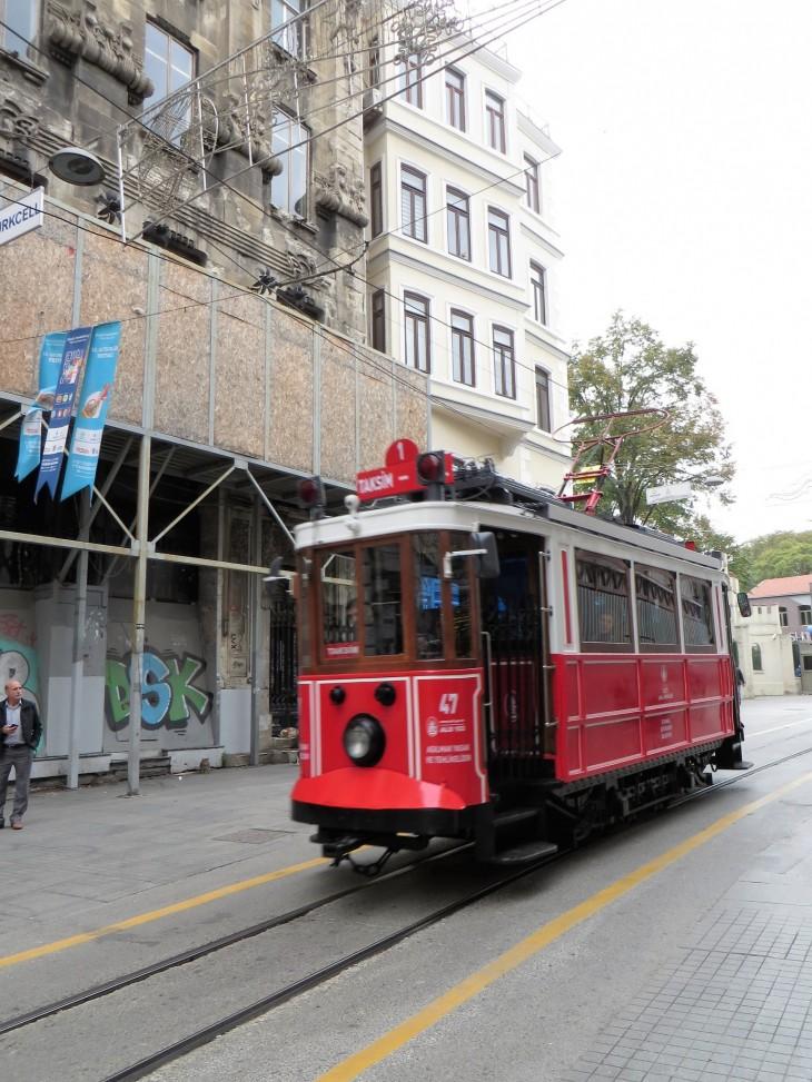 Raitiovaunu Istanbulissa