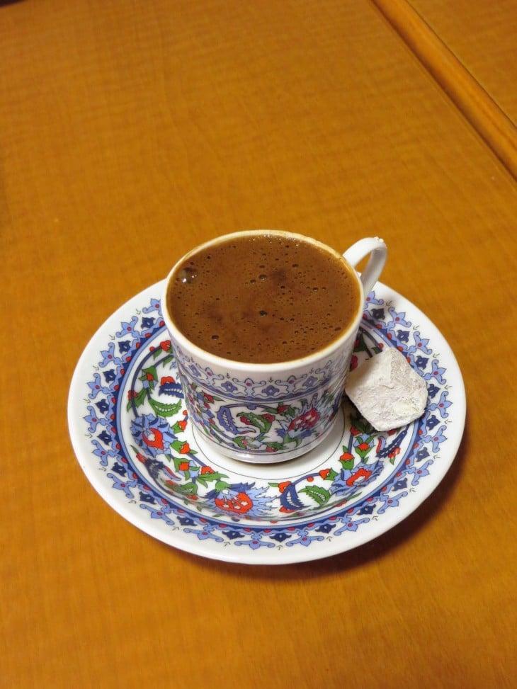 Turkkilaista kahvia
