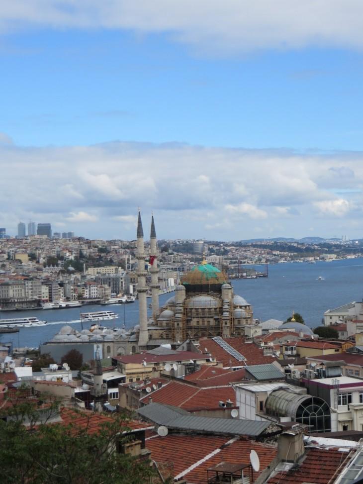 Näkymiä Istanbuliin