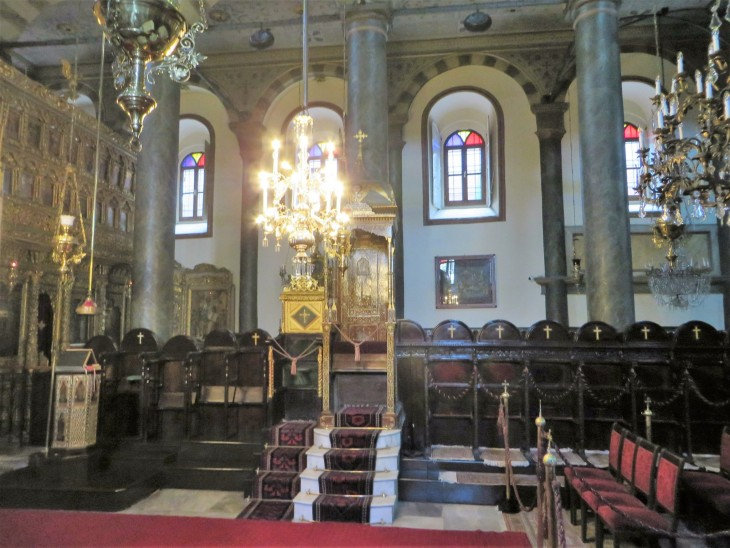 Ortodoksinen kirkko Fenerissä Istanbulissa
