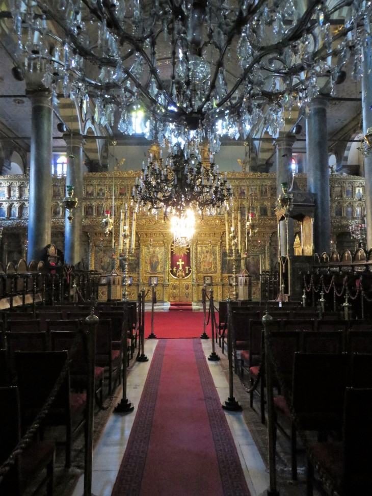 Ortodoksinen kirkko Istanbulissa