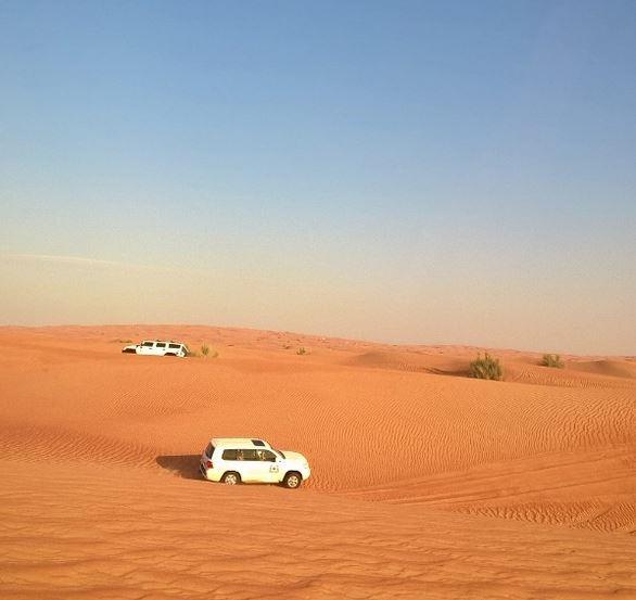Jeeppisafarilla Dubaissa
