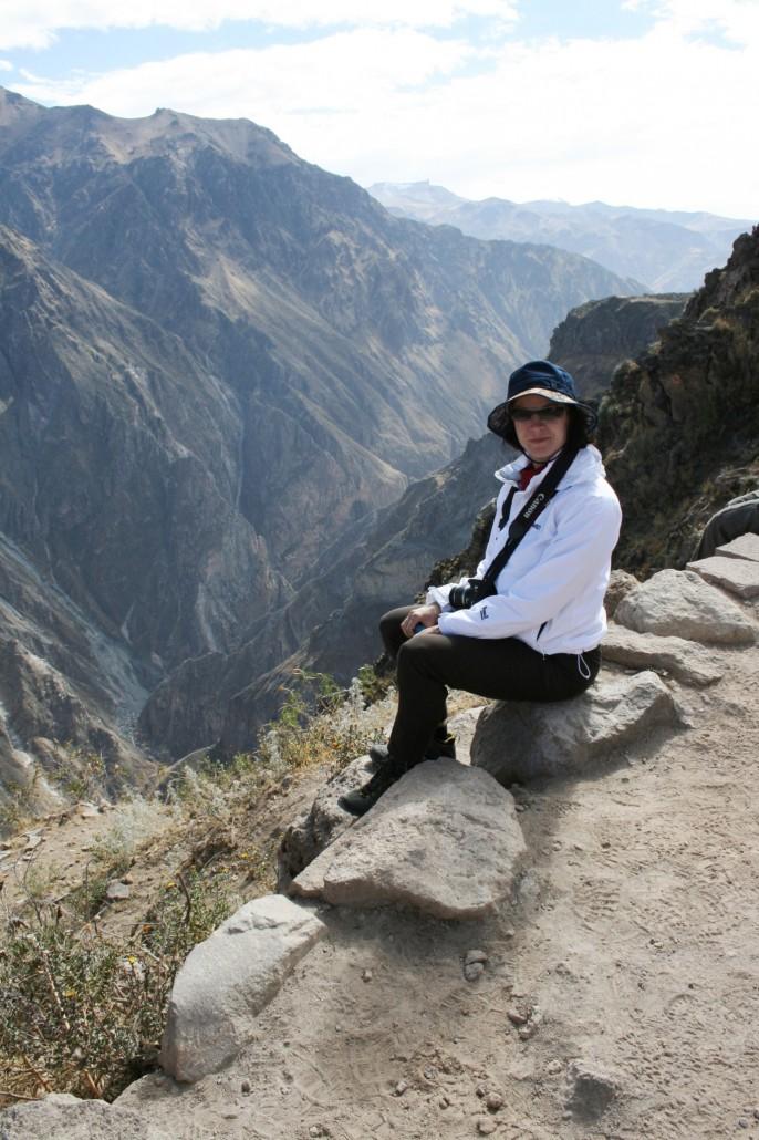 Merja Colca kanjonilla