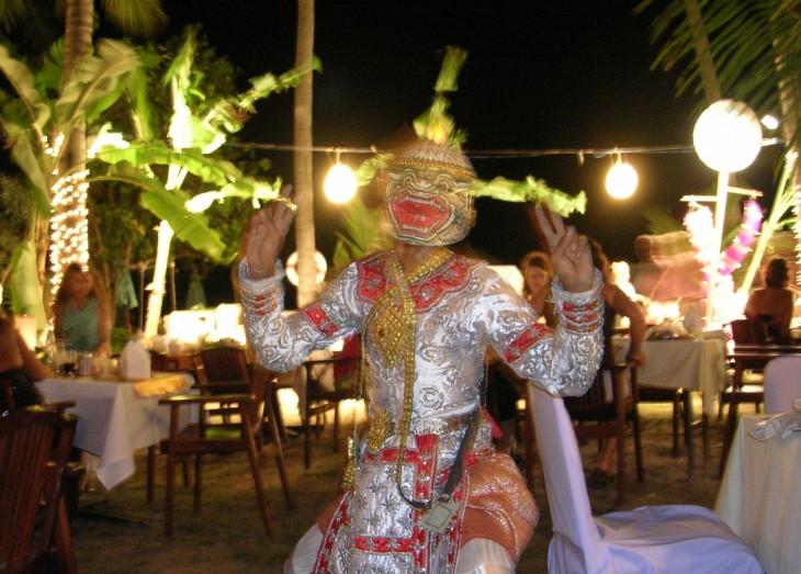 Uudenvuoden juhlintaa Cape Panwassa, Phuketissa