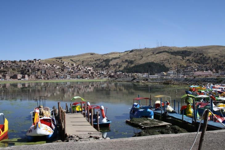 Titicaca järvi - Lake Titicaca
