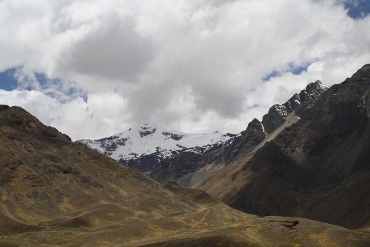 Maisemia matkalla Cuscoon