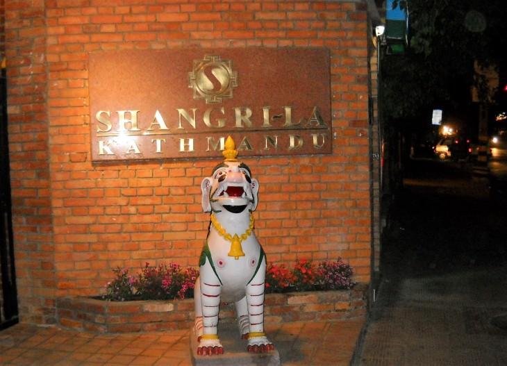 Shangri-la hotel Nepal