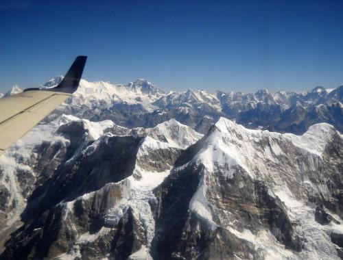 Vuoristolento Mount Everestille