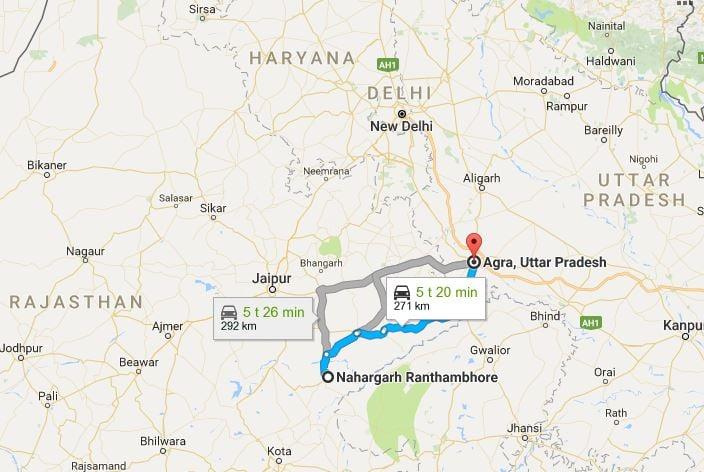Kartta: Google Maps
