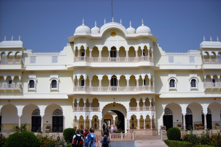 Upea hotellimme Nahargarh