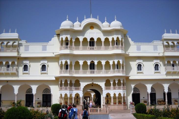 Upea hotellimme Nahargarh