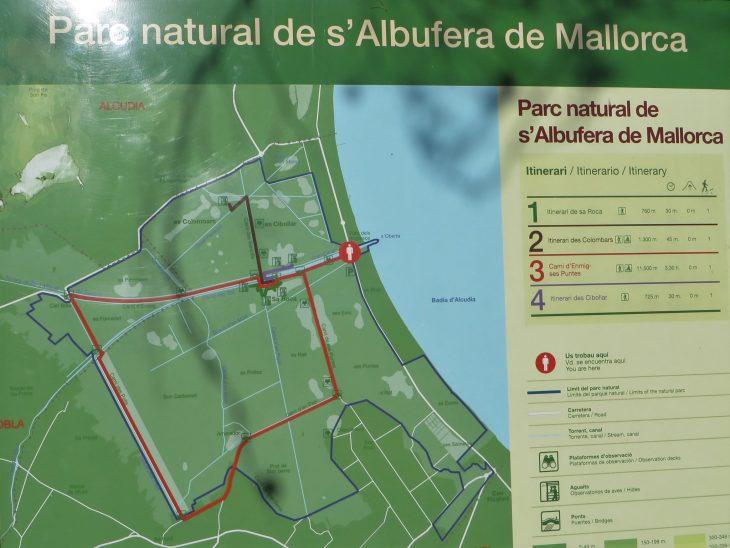 s_albufera_kansallispuisto_kartta