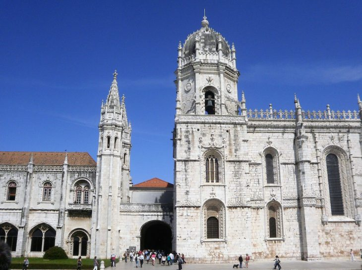 Lissabon_Mosteiro dos Jeronimos_luostari