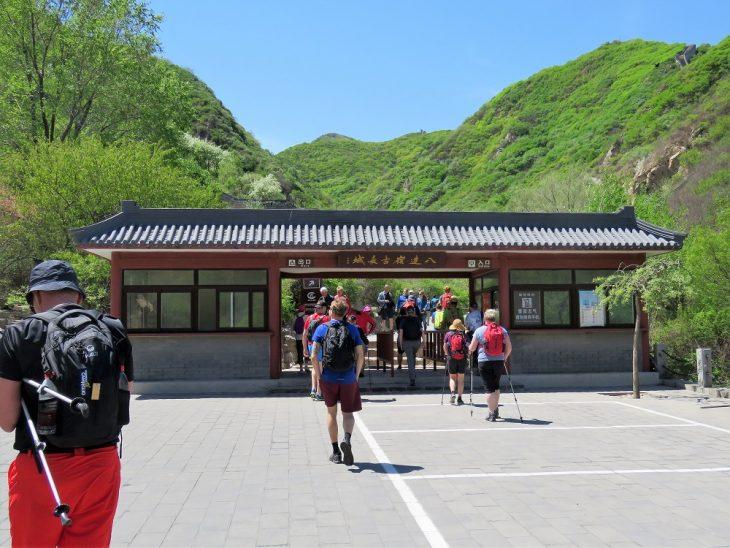 kiinan muuri vaellus badaling ancient