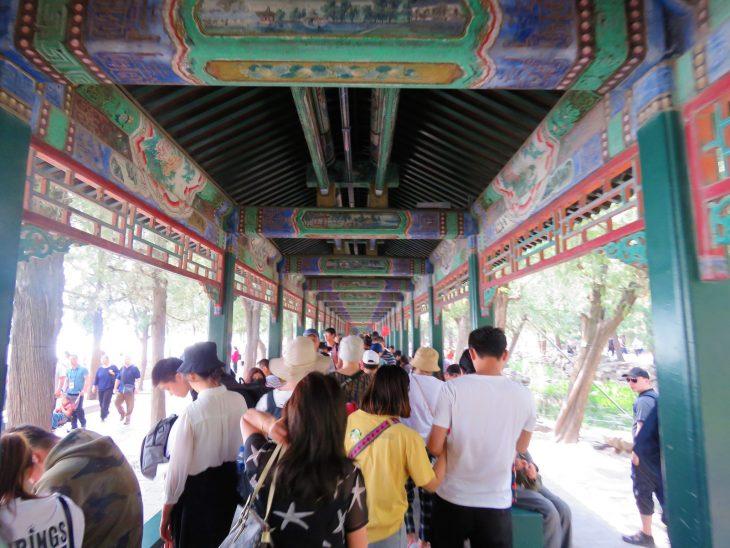 peking kesäpalatsi käytävä