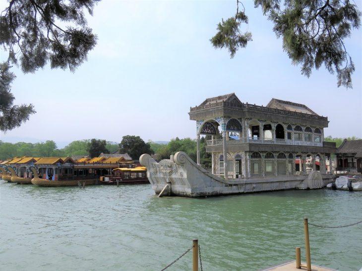 peking kesäpalatsi marbleboat
