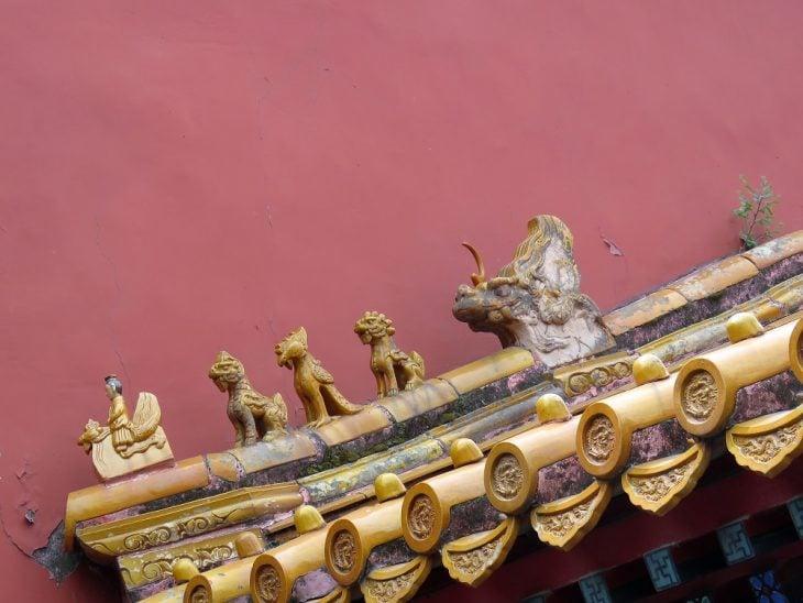peking kielletty kaupunki elainfiguurit