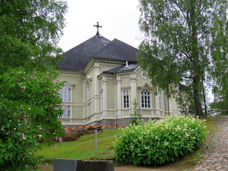 kangasniemi kirkko