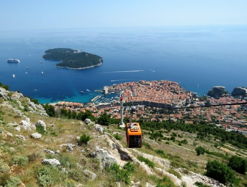 dubrovnik srd cable car