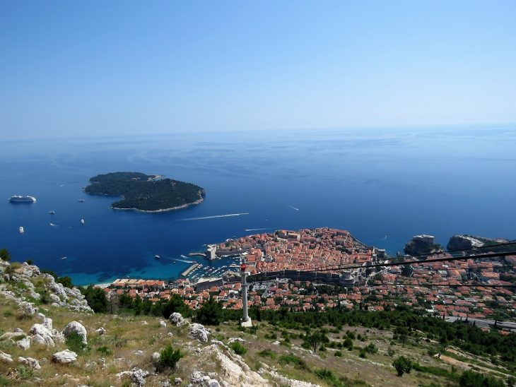 dubrovnik srd mountain