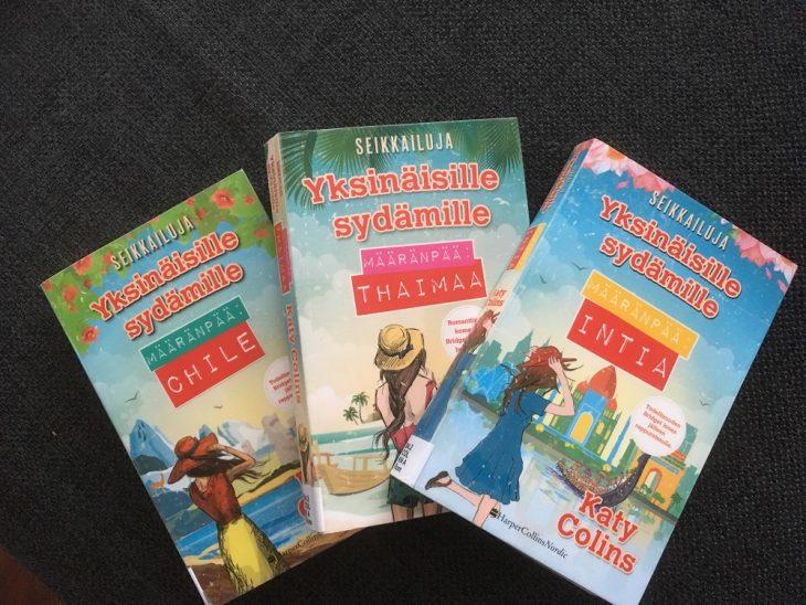 Kolme kirjaa Seikkailuja yksinäisille sydämille