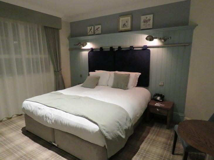 Chamberlain hotellin sänky