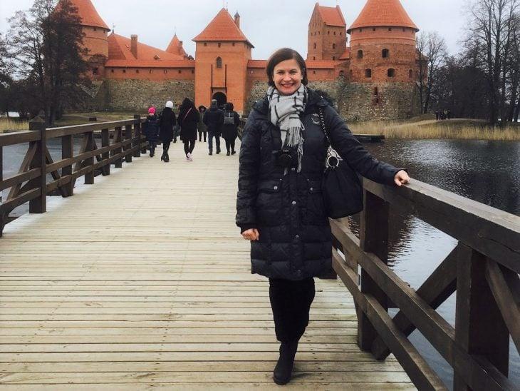 Merja Trakain linnan edustalla