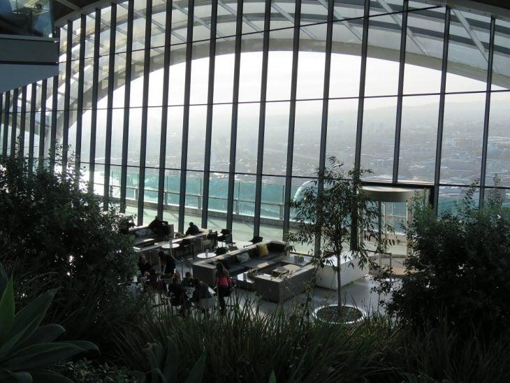 Sky garden inside