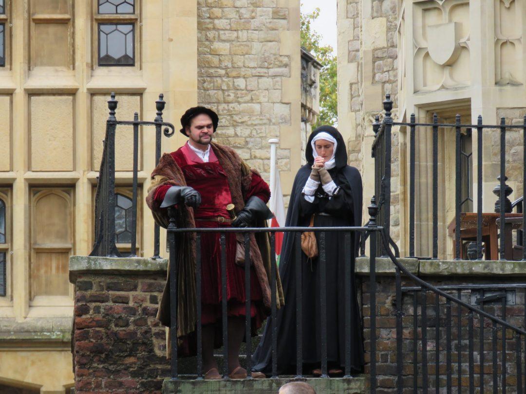 Towerin linnan näyttelijät
