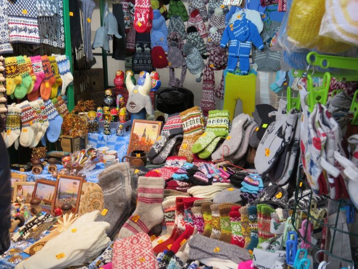 Riika sukkia ja lapasia