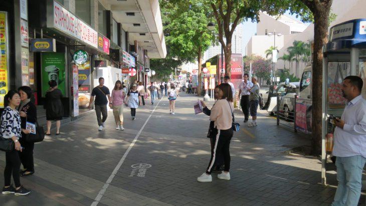 Kowloonin kadulla
