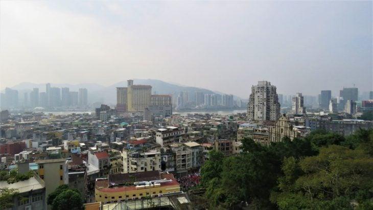 Maisemat linnoitukselta Macao
