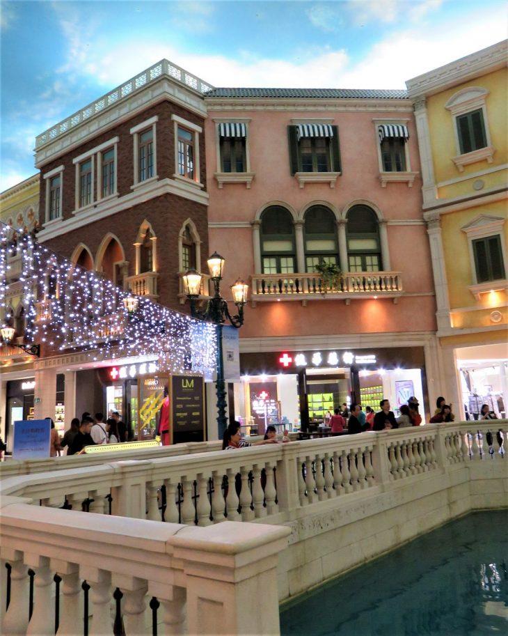 The Venetian kanaalit