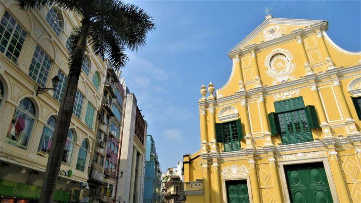 Macaon varikkaat talot