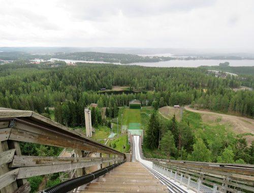Näkymä Matti Nykäsen mäen huipulta