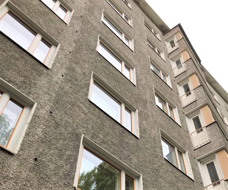 Puistokadun kerrostalo Jyväskylässä