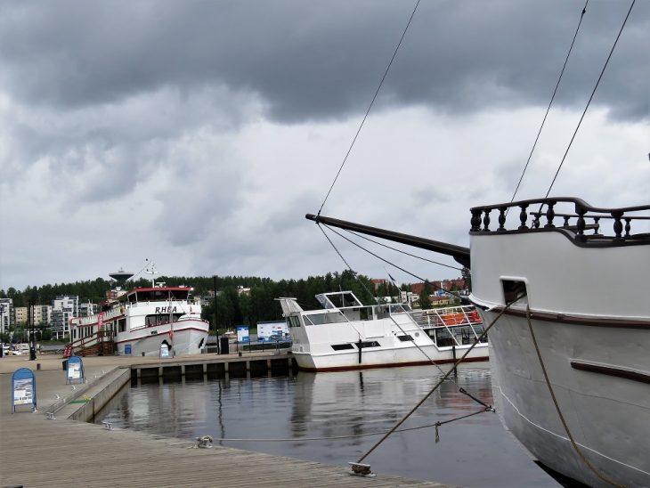 Laivoja Jyväskylän satamassa