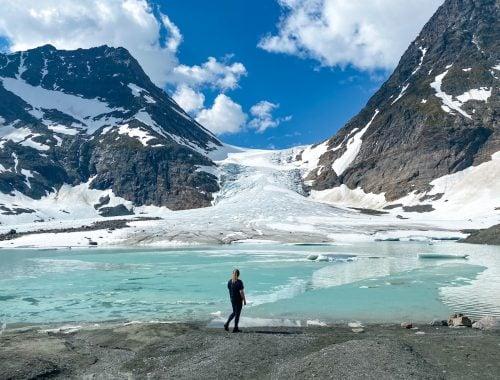 Jäätikkö Pohjois-Norjassa